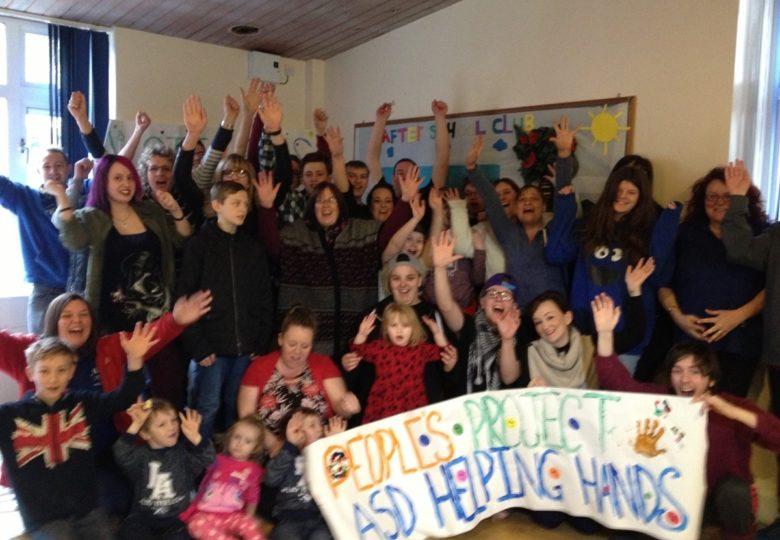 Participants of ASD Helping Hands Activities programme