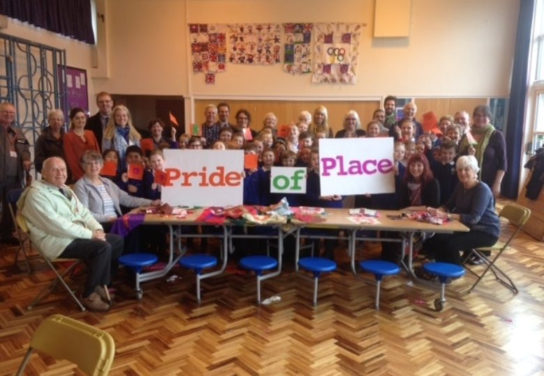 Participants of Pride of Place – taking fresh steps together