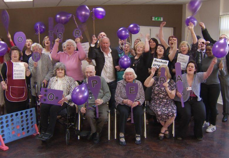 Participants of The BIG Rushall OPERA – Older People Enjoy Regular Activity