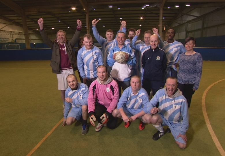 Participants of The Social Inclusion Football League
