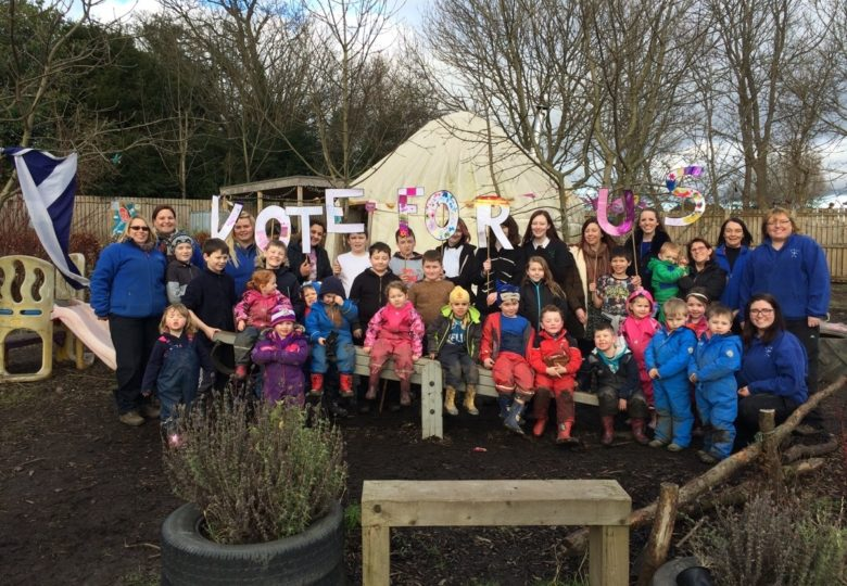 Participants of Methilhill Community Learning Garden