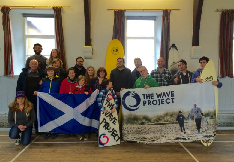 Participants of The Wave Project Scotland