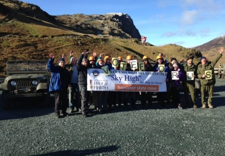 Participants of Sky High - Help for Heroes