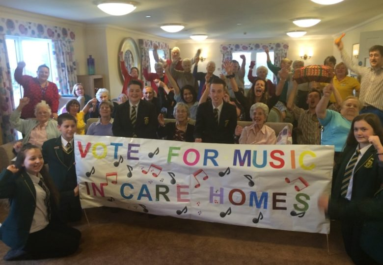 Participants of Music in Care Homes