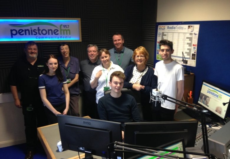 Participants of Evolve - Penistone FM Community Radio - Opportunities for all