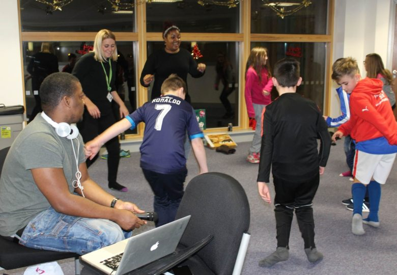 Participants of Xpressions – Music & Multimedia arts for young people
