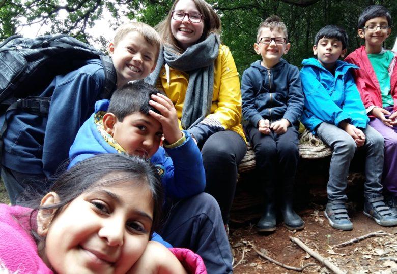 Participants of Outdoor Adventure Club