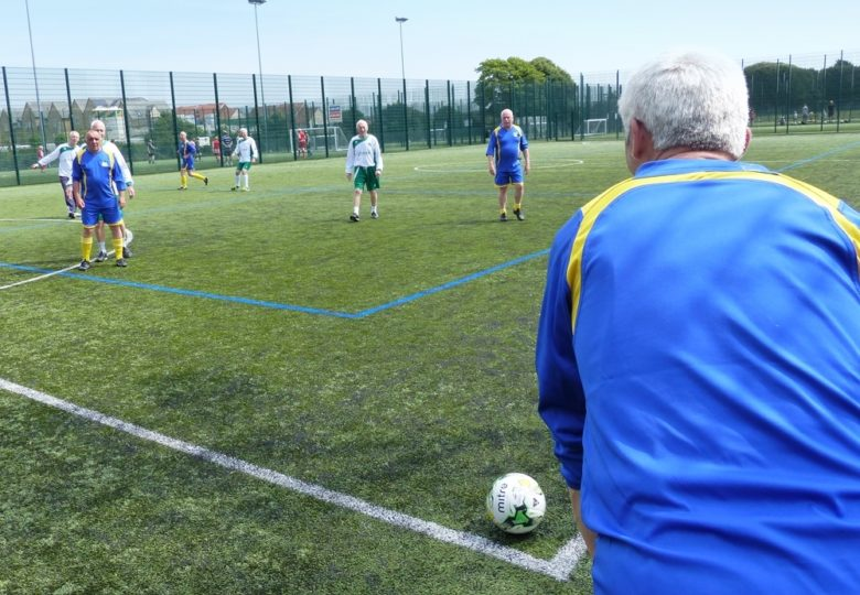 Participants of More over 50's, more active, more often in Sussex