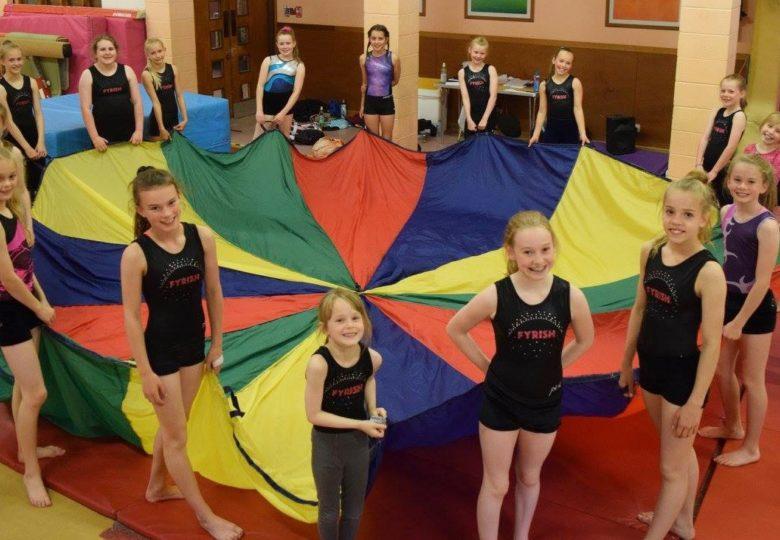 Participants of Fyrish Gymnastics Club