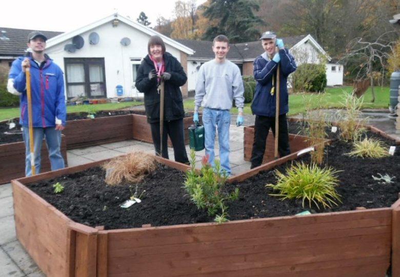 Participants of The Leonard Cheshire Centenary Garden Project