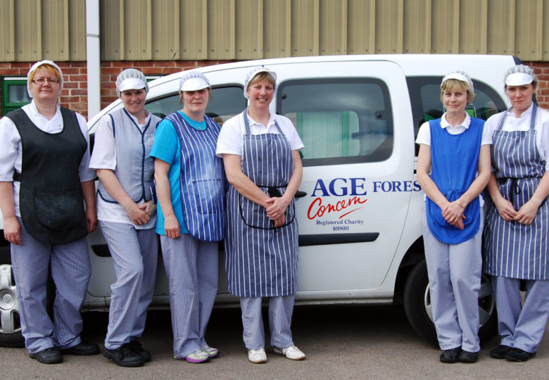 Participants of Catering with compassion: Meals for the Forest of Dean elderly