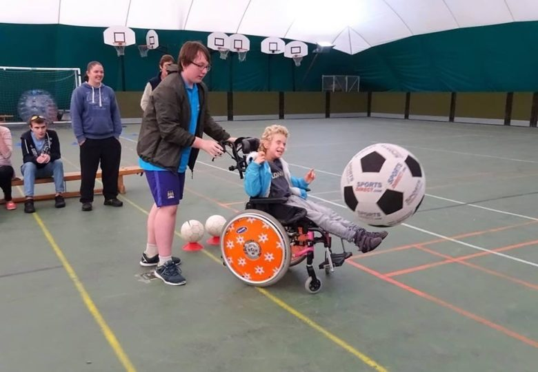 Participants of Time to Shine – Unlocking the Potential of Disabled Young People
