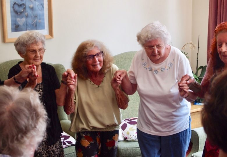 Participants of Best Foot Forward – Dance for falls prevention