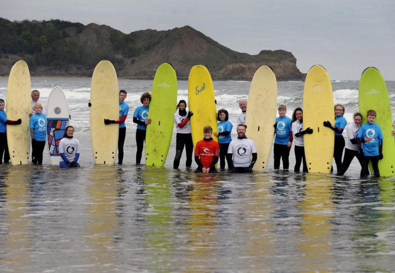 Participants of Wave Project Scarborough: Surf Club