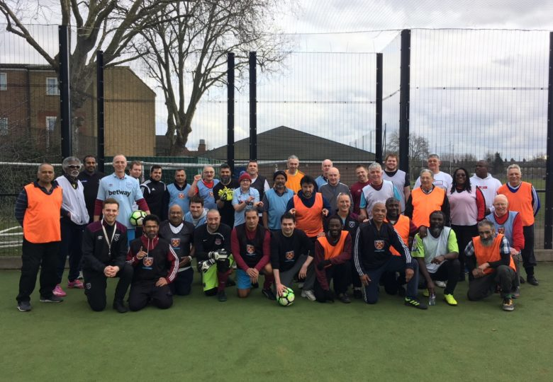 Participants of Walking Football
