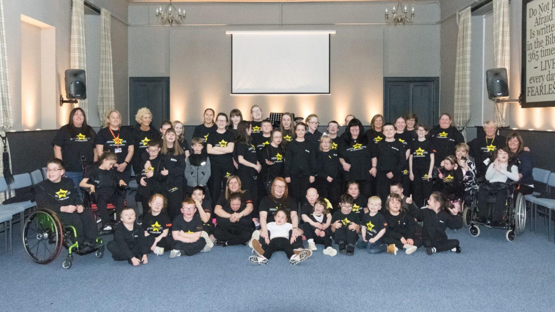 Participants of Shining Stars Community Adventures