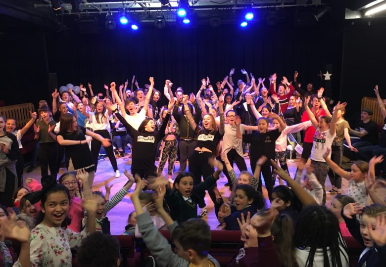 Participants of Livewire – Community Theatre For Young People