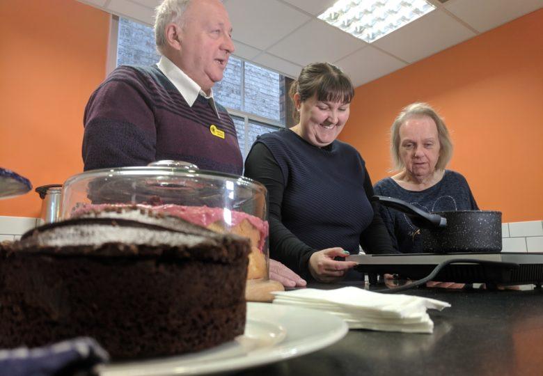 Participants of My Place Community Café