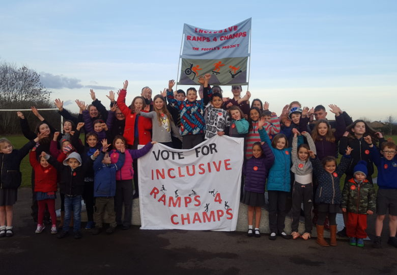 Cyfranogwyr Inclusive Ramps for Young Champs