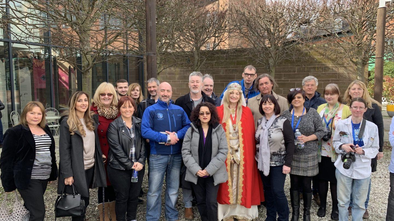 Participants of Coventry Community Heritage Café