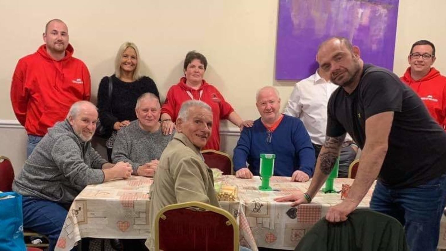 Participants of Help A Squaddie Veterans Support