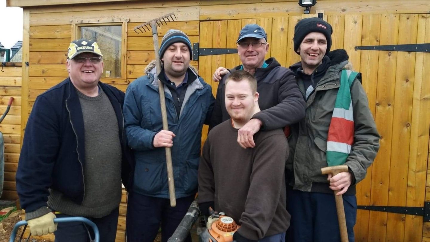 Participants of Rhubarb Farm, Changing Lives