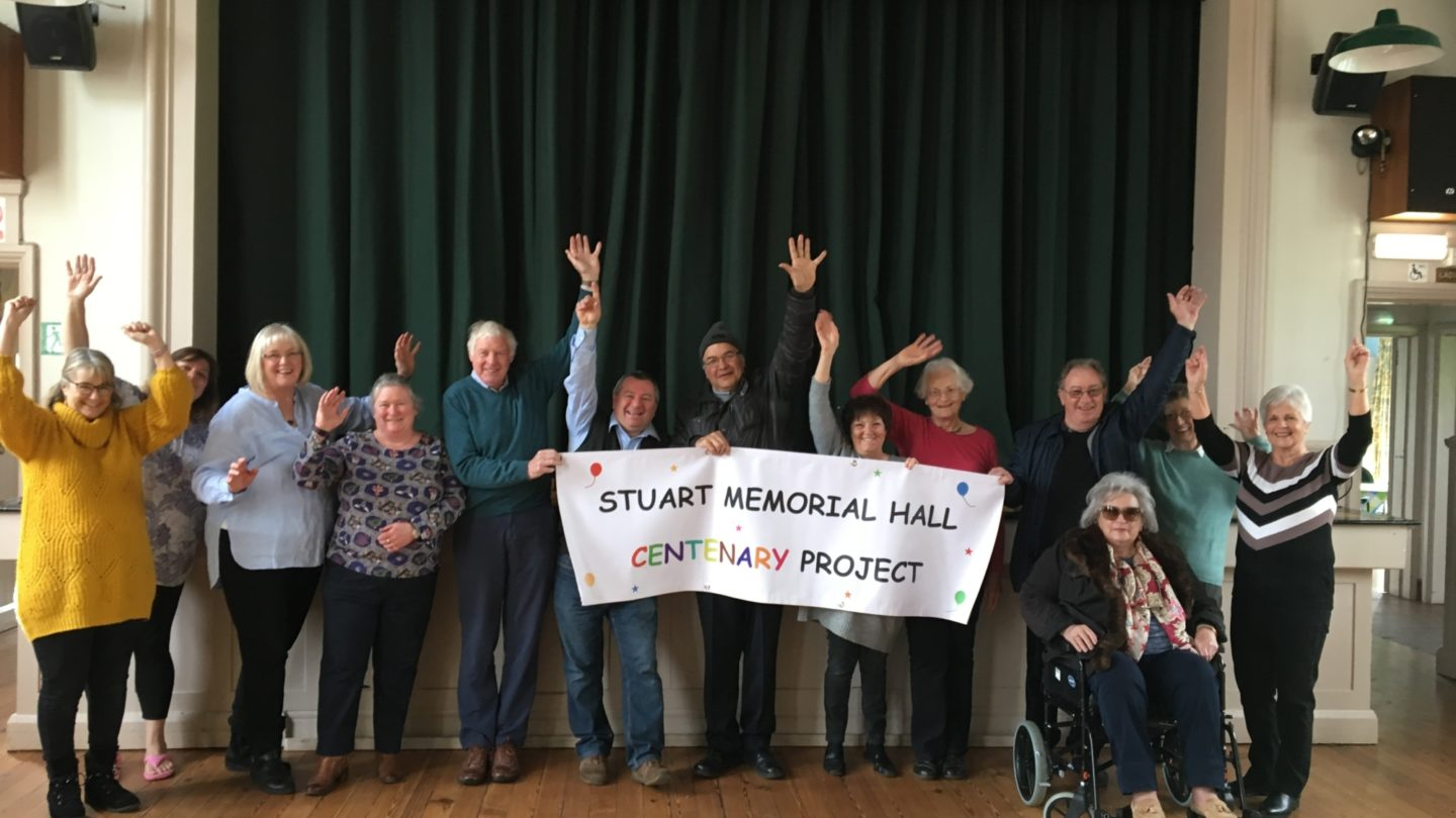 Participants of Stuart Memorial Hall Centenary Project
