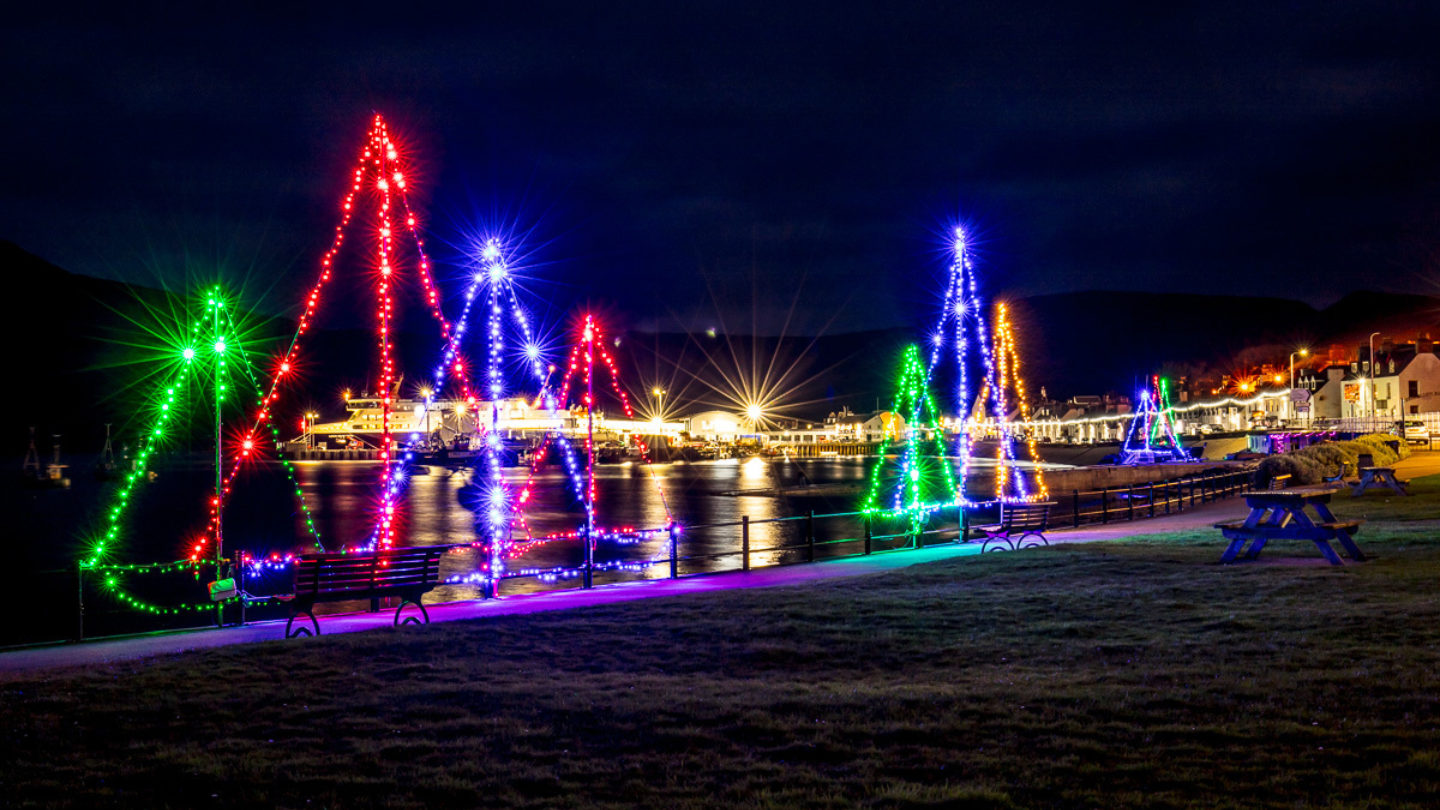 Participants of Light Up Ullapool